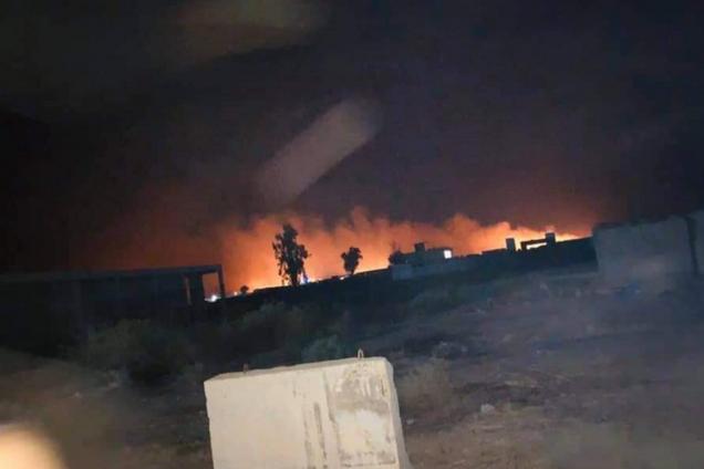 В Ираку нанесли новый удар с неба