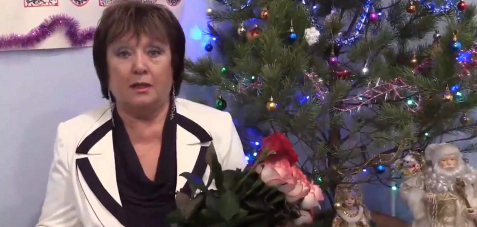 'Нафталиновое чудо': Витренко разозлила сеть новогодним поздравлением из 'совка'
