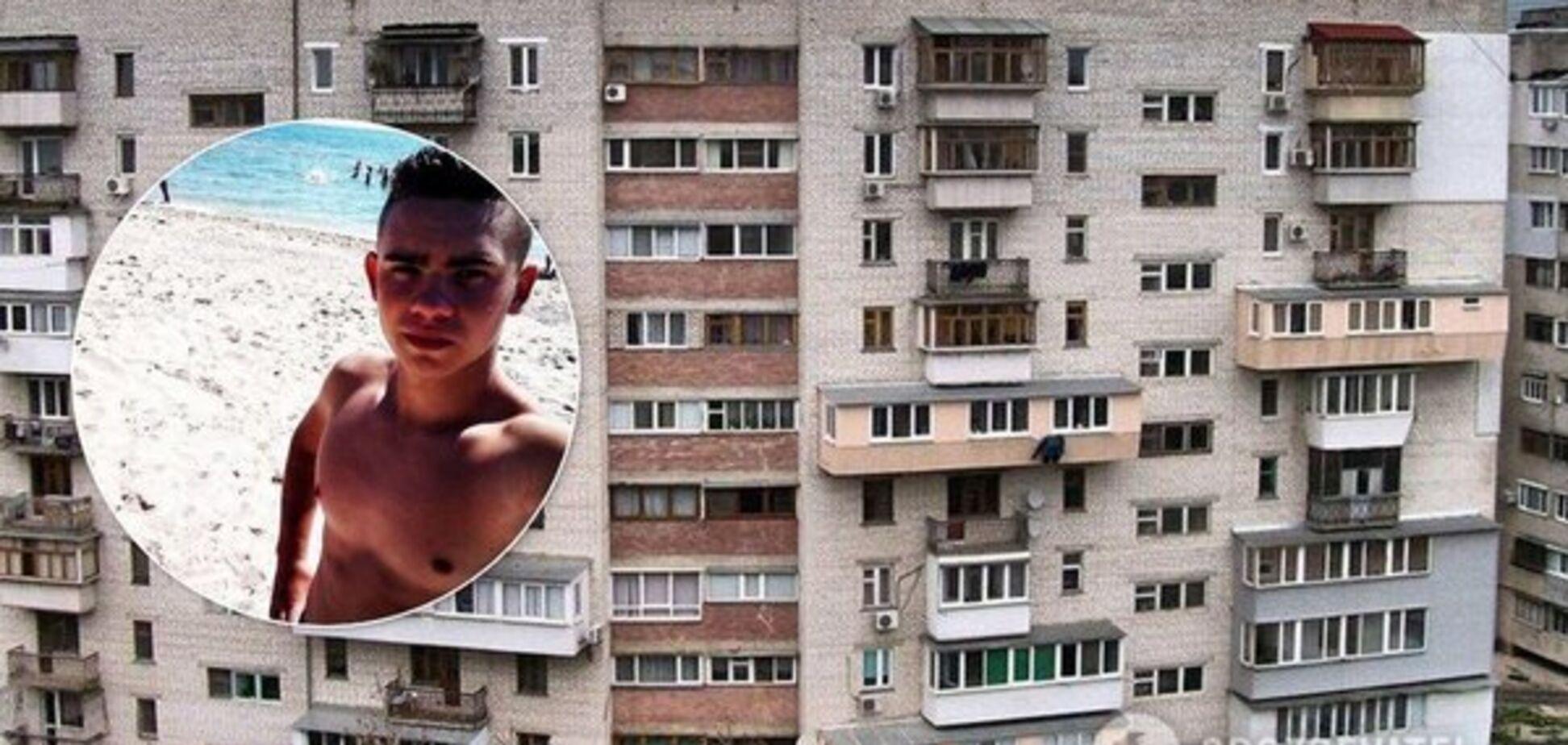 Долго лежал на асфальте: стало известно о состоянии парня, выпавшего из окна под Днепром