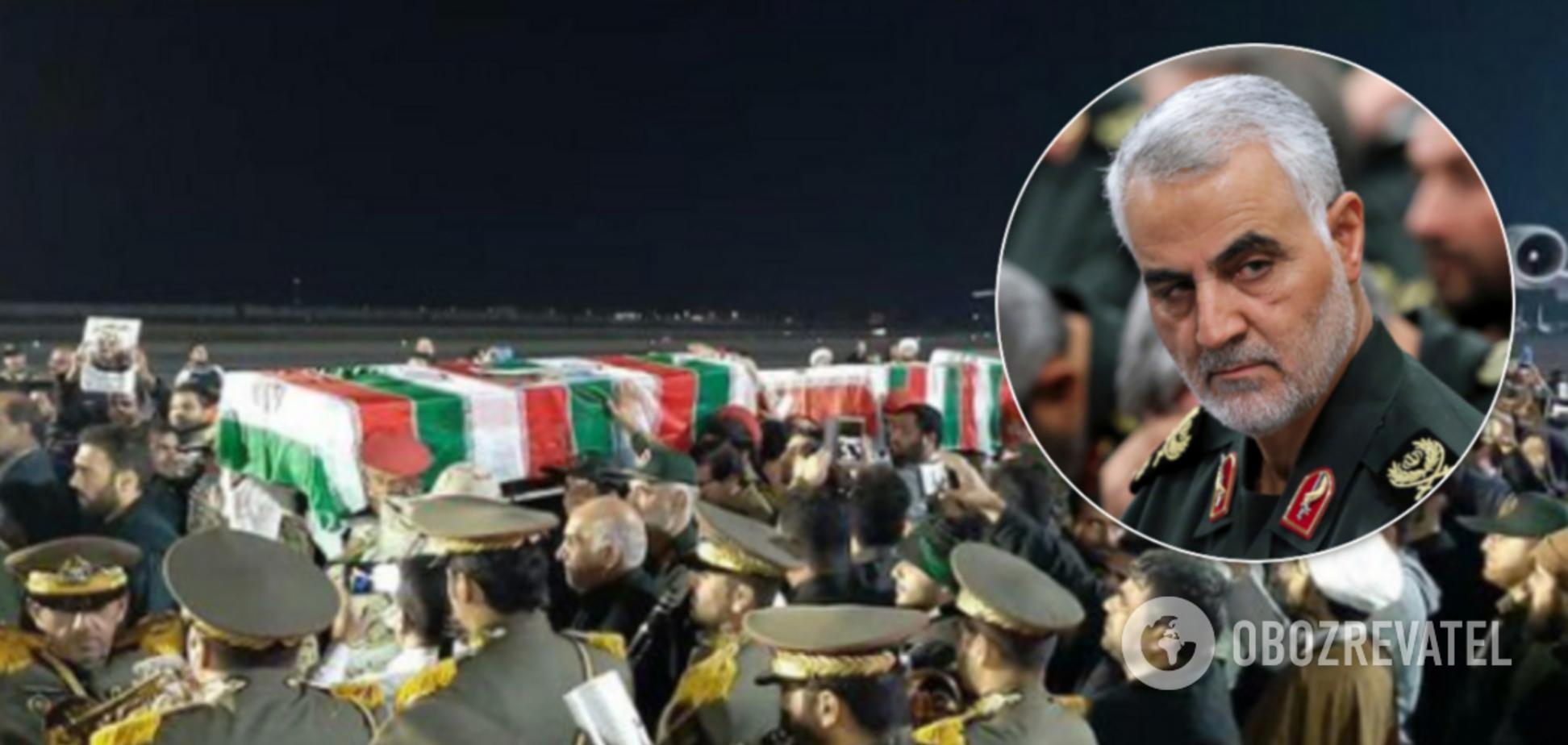 Тело Сулеймани привезли в Иран: прощаются миллионы