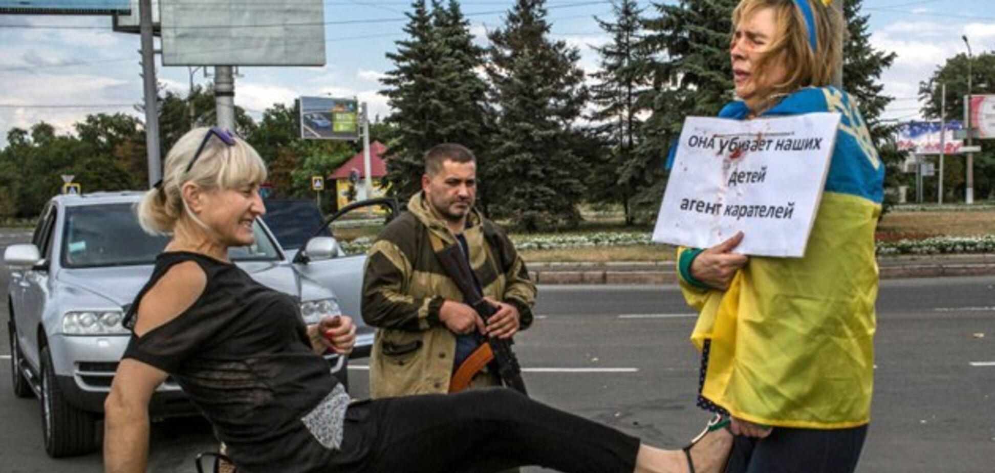 Убит террорист 'Заур', который жестоко издевался над украинкой в Донецке