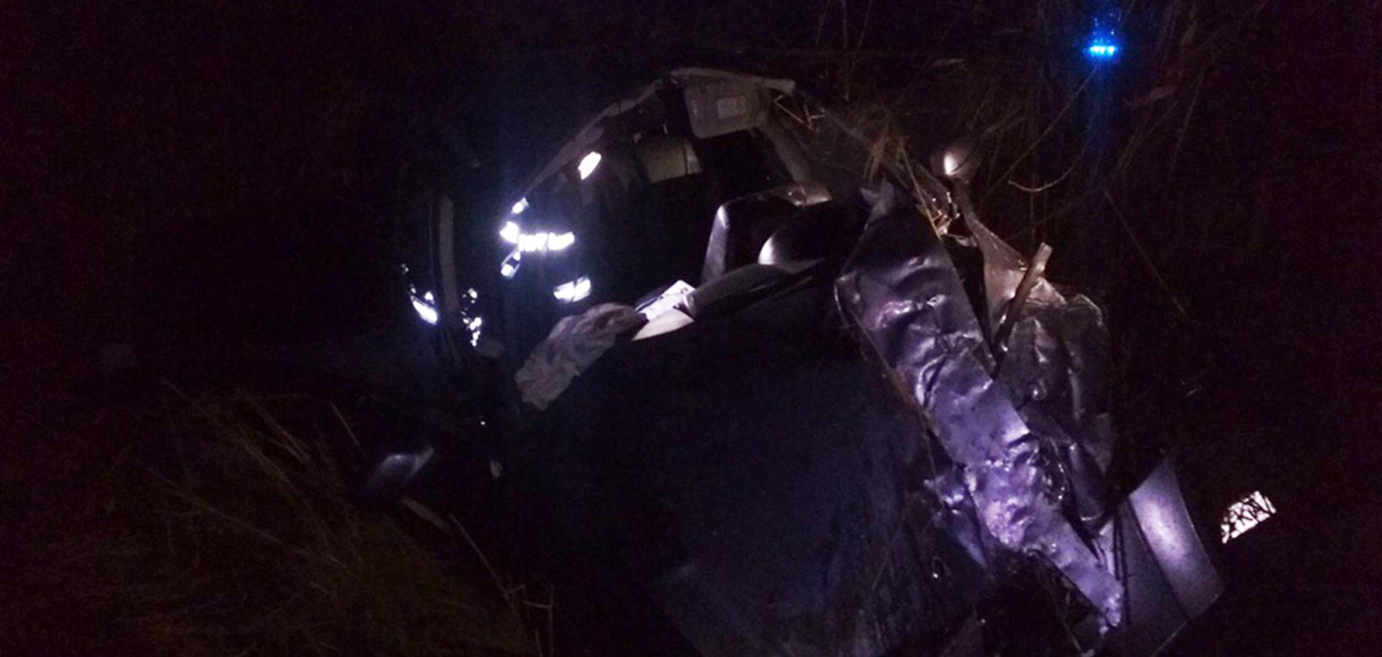 Под Днепром произошло жесткое ДТП: есть пострадавшие. Фото