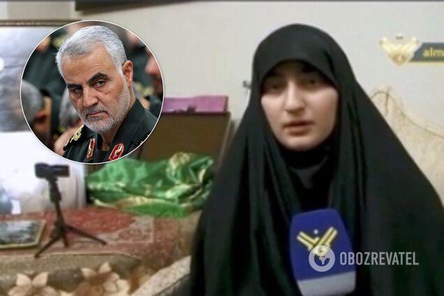 Дочь Сулеймани пригрозила США и Израилю местью за убийство отца