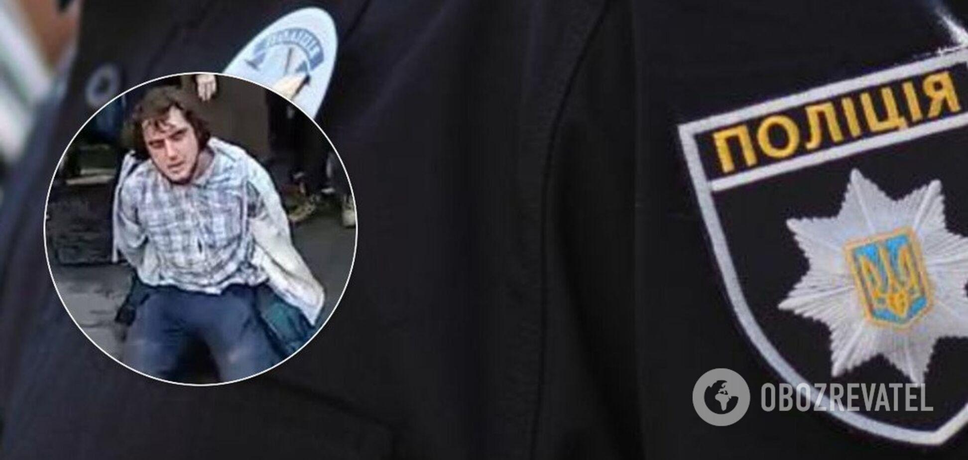 У Києві поліція 'оформила' українців, які вийшли проти 'русского міра'