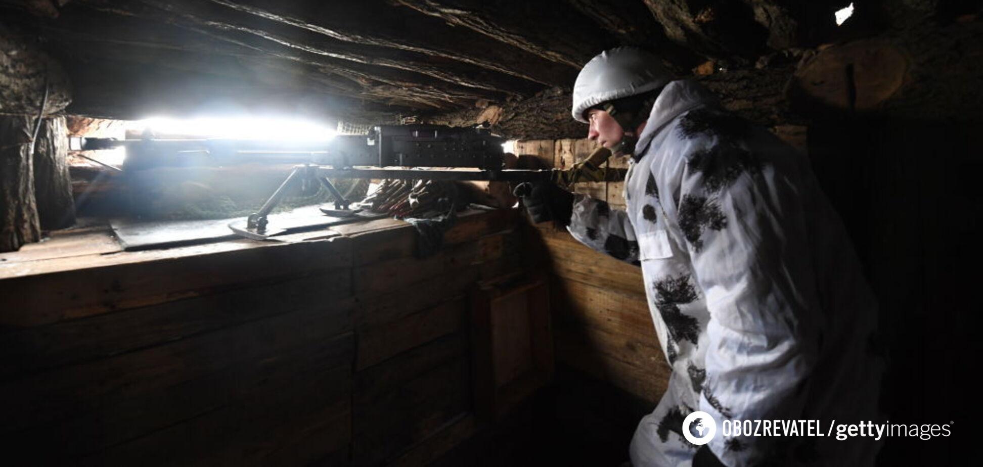Террористы убили украинского воина на Донбассе и подозрительно затихли