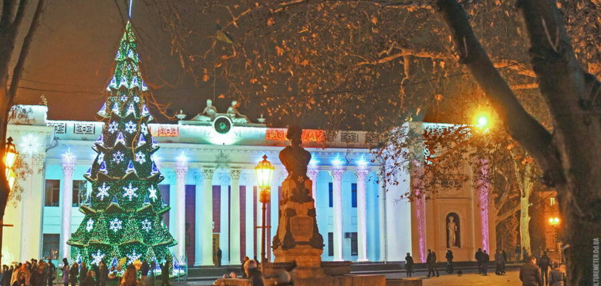 Погода в Одессе на Рождество