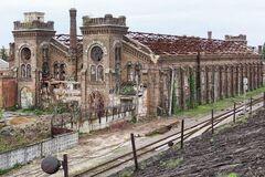Заброшенное здание завода 'Краян'