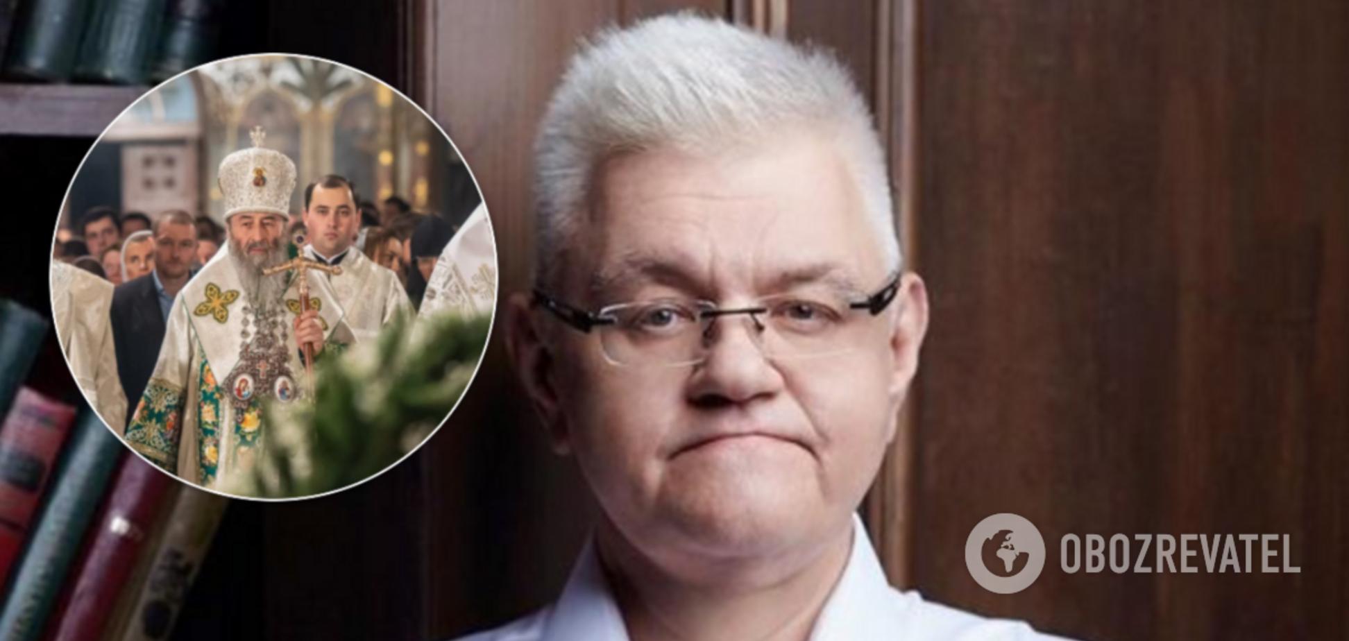 Сивохо з УПЦ МП влаштував марафон на каналі Медведчука