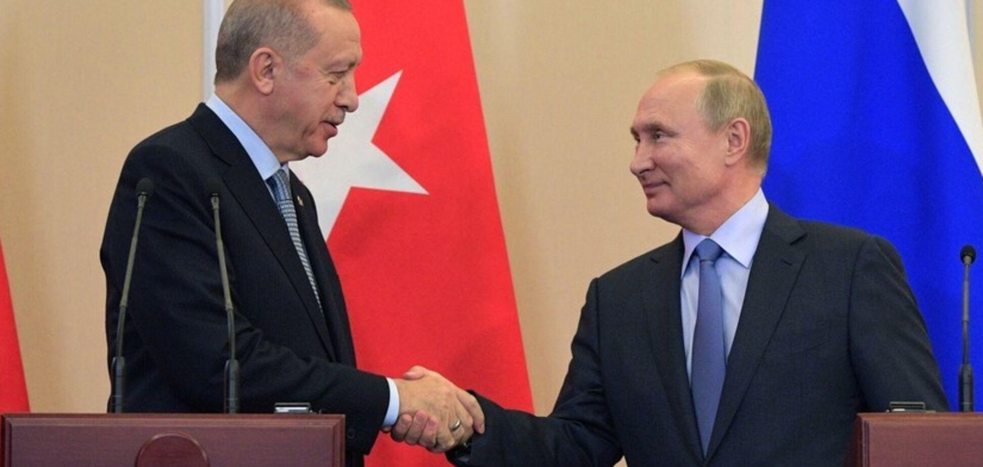 Путін і Ердоган офіційно запустили новий газопровід в обхід України