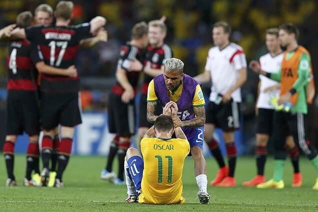 Бразилия 1-7 Германия