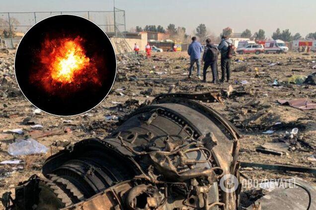 Самолет потерпел катастрофу над горячей точкой