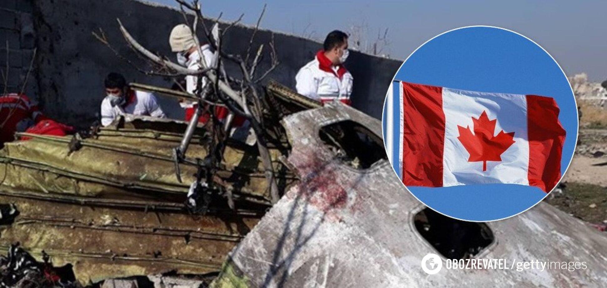 Канада отреагировала на авиакатастрофу самолета МАУ