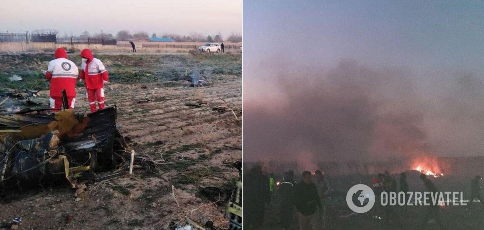 После авиакатастрофы с украинским самолетом при СНБО Украины создали оперативный штаб