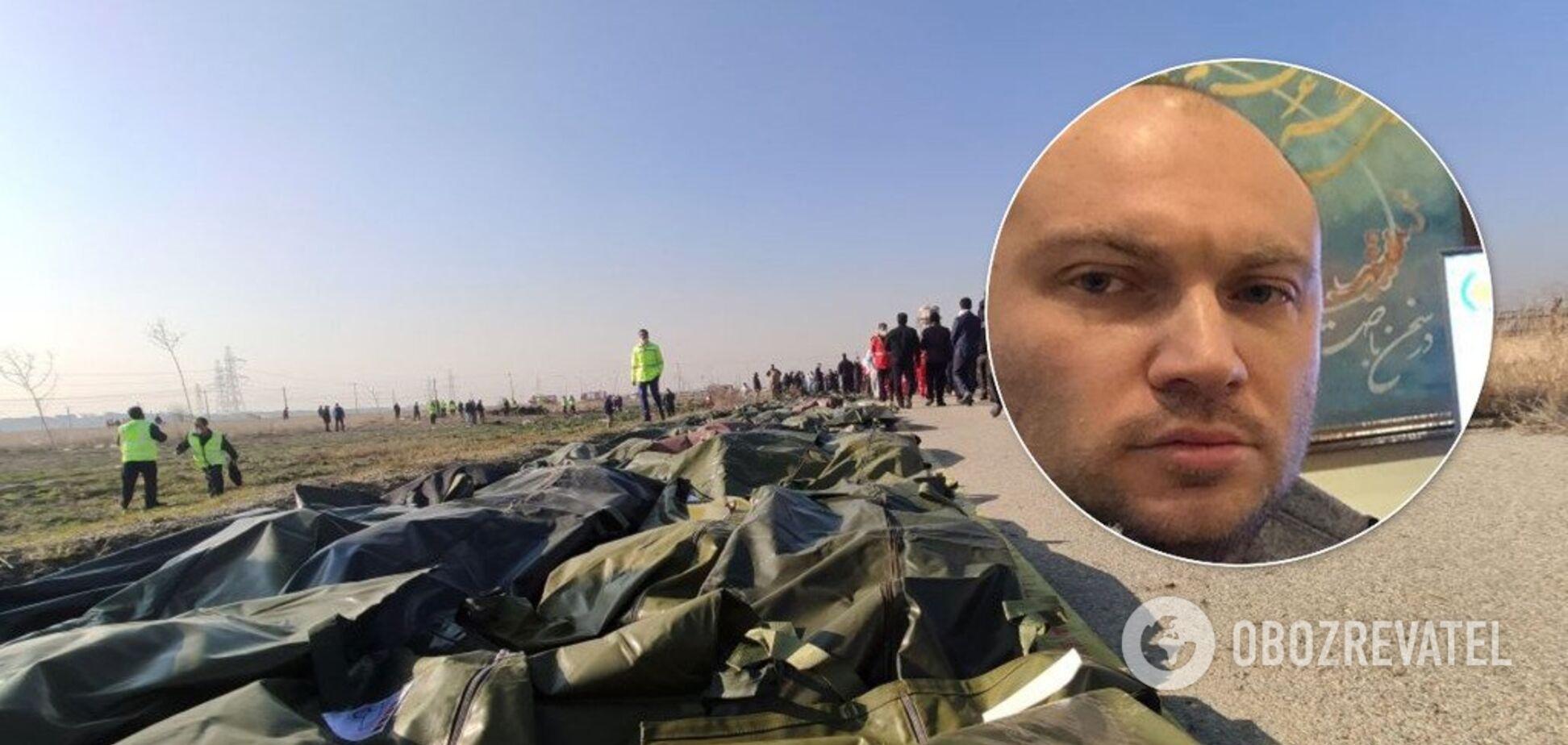 Авиакатастрофа в Иране: украинец рассказал, как чудом спасся от смерти