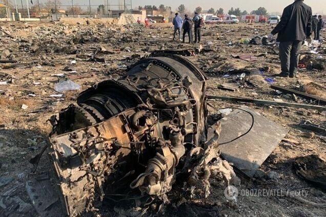 Крушение самолета МАУ в Тегеране