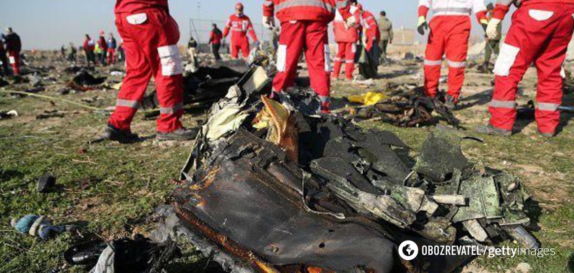 Крушение украинского самолета в Иране: версии