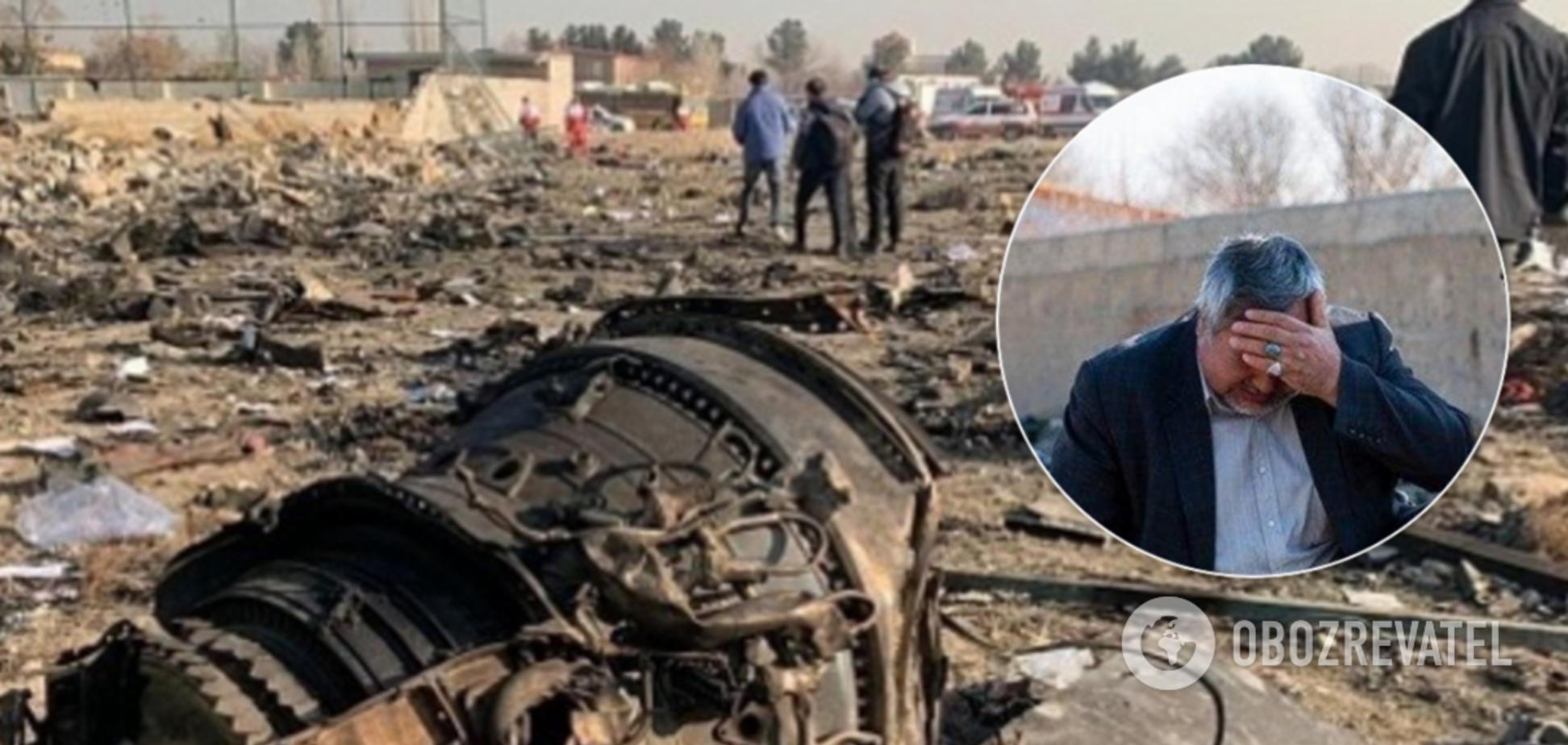 Украинcкий Boeing упал в Иране: новые фото и видео