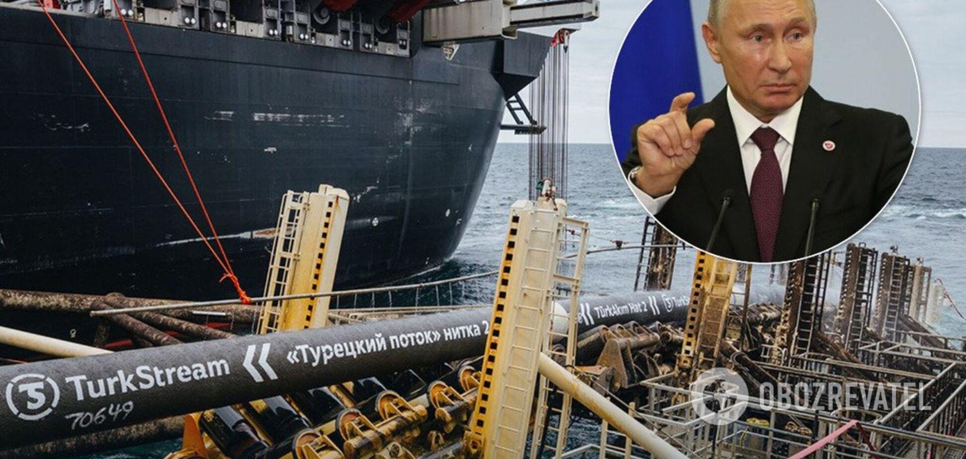 'Облом труби': Портніков пояснив поразку Путіна з 'Турецьким потоком'