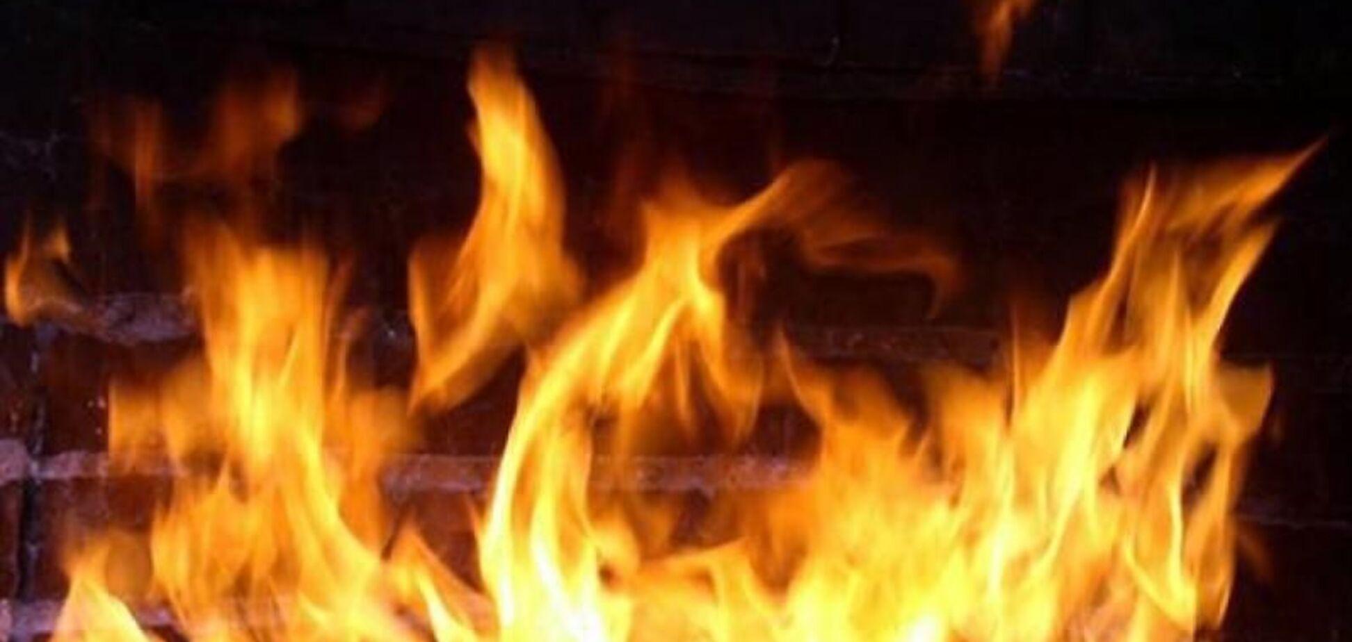 На Днепропетровщине во время пожара в частном доме погиб мужчина