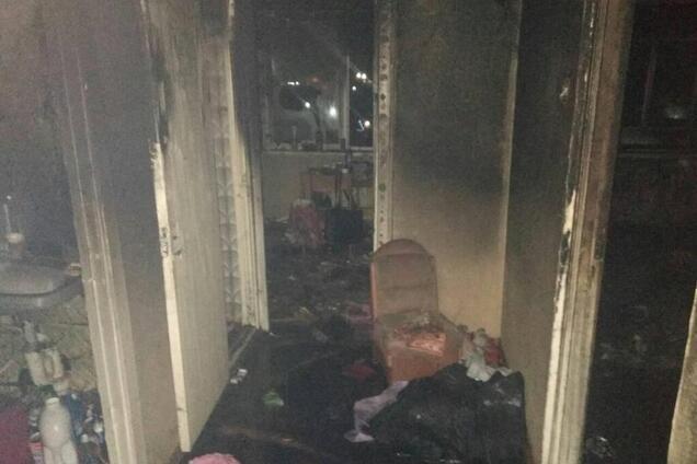 На Киевщине во время пожара в многоэтажке погибла женщина