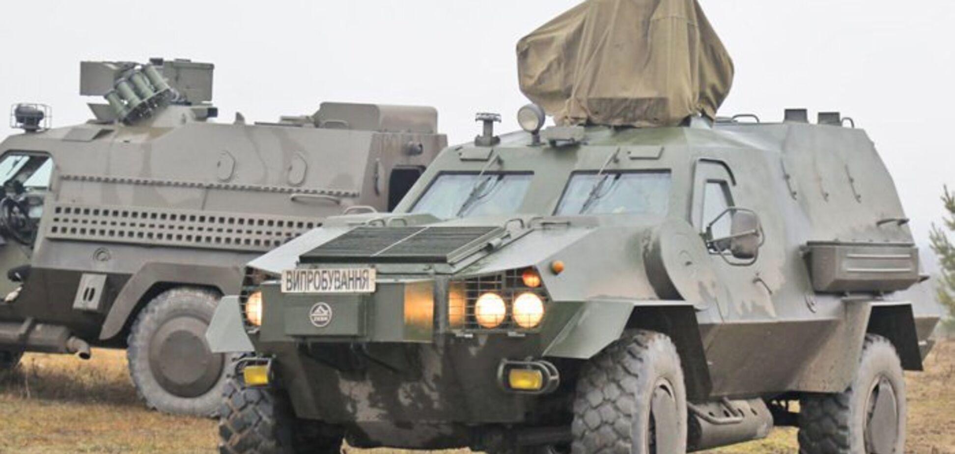 Украинские броневики прошли экстремальные испытания. Фото