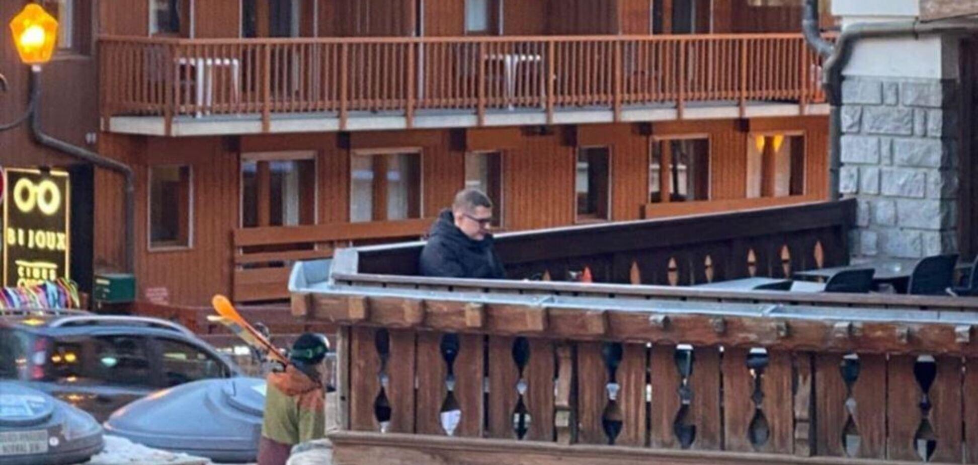 Баканов відпочиває в Куршавелі: скільки це коштує