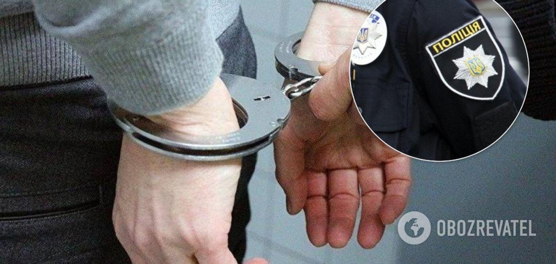 В Киеве задержали российского 'вора в законе'. Фото и видео