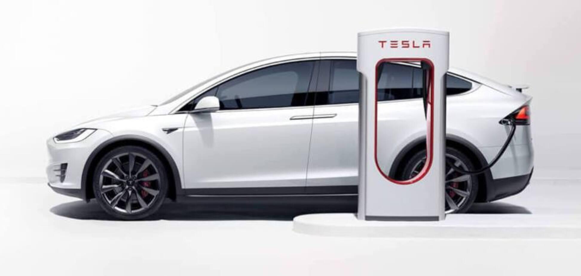 В Украине появятся сверхмощные зарядные станции Tesla Supercharger