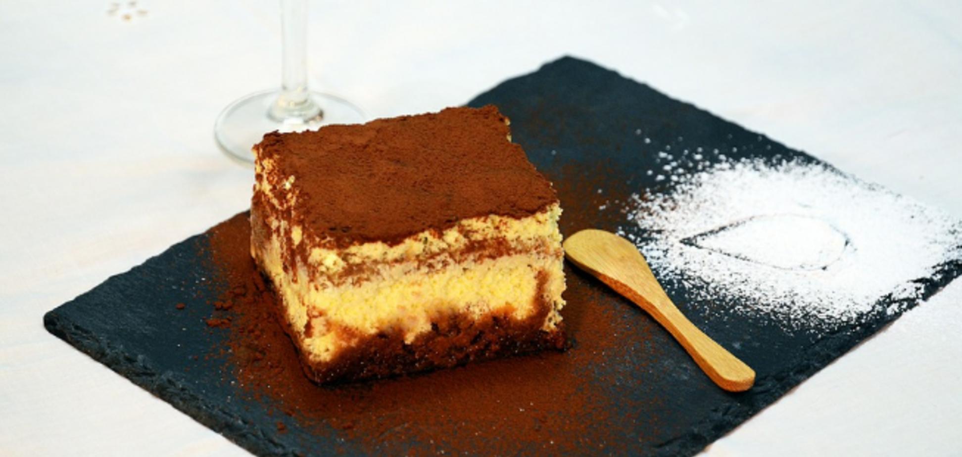Рецепт чарівного десерту на швидку руку