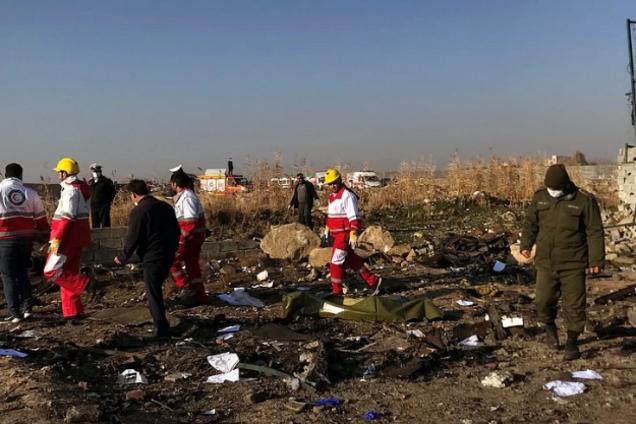 У катастрофі Boeing в Ірані помітили дивний збіг