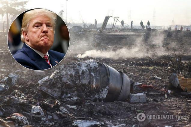 Трамп висловився про трагедію з літаком МАУ