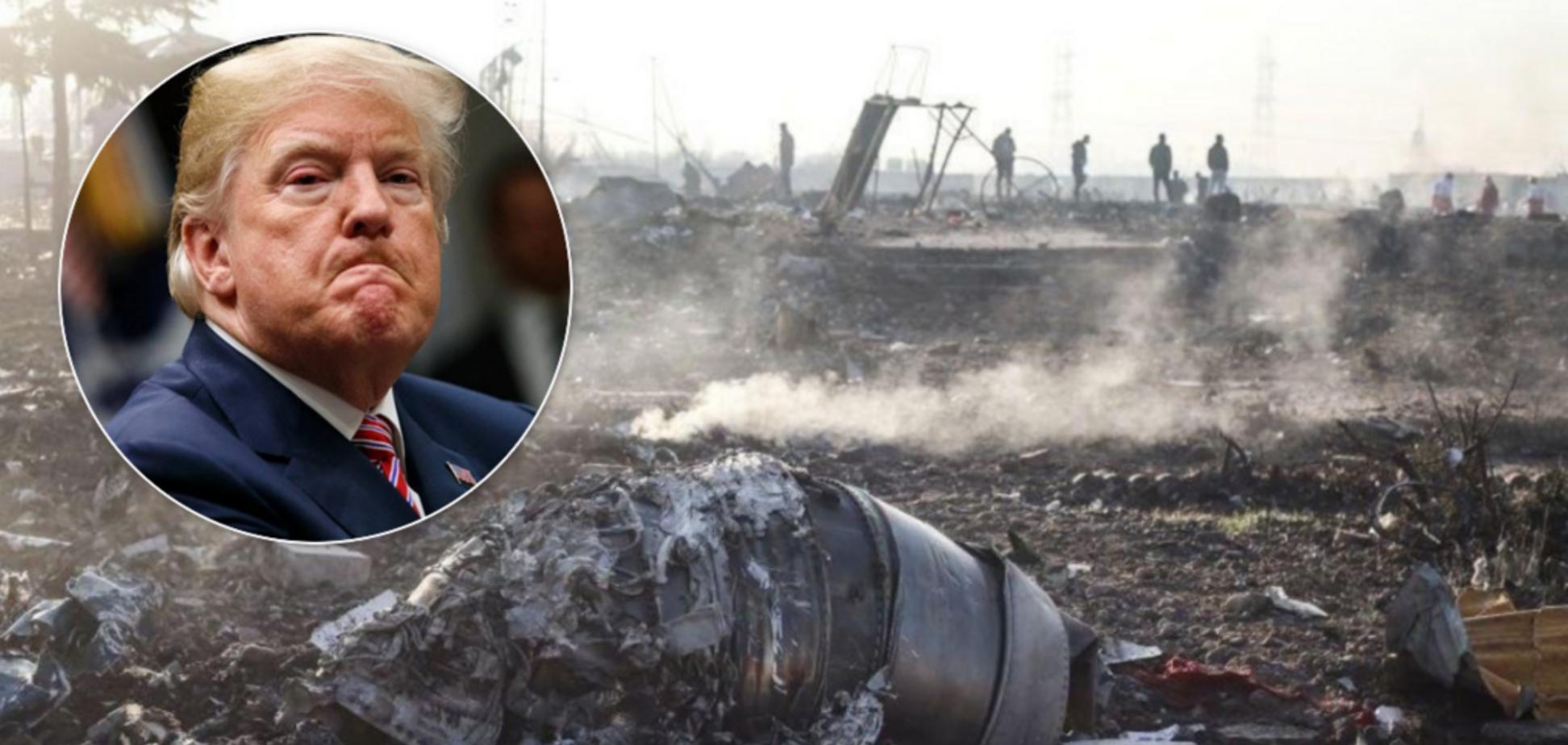 Збили ракетою? Трамп зробив гучну заяву про катастрофу літака МАУ в Ірані