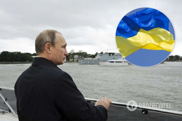 Путин посетил оккупированный Крым