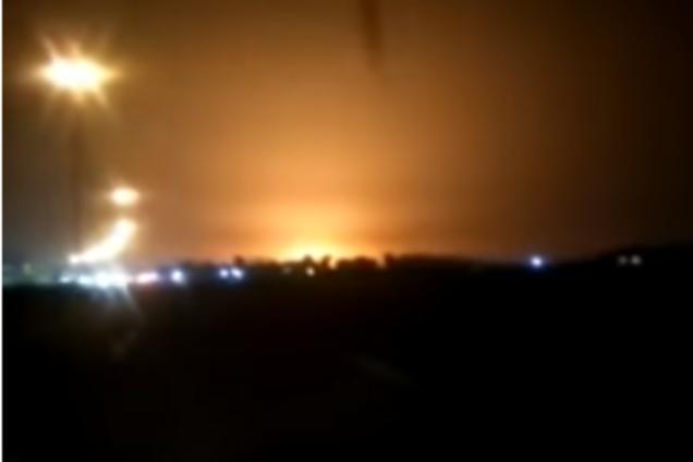 Катастрофа самолета в Иране: новые кадры падения