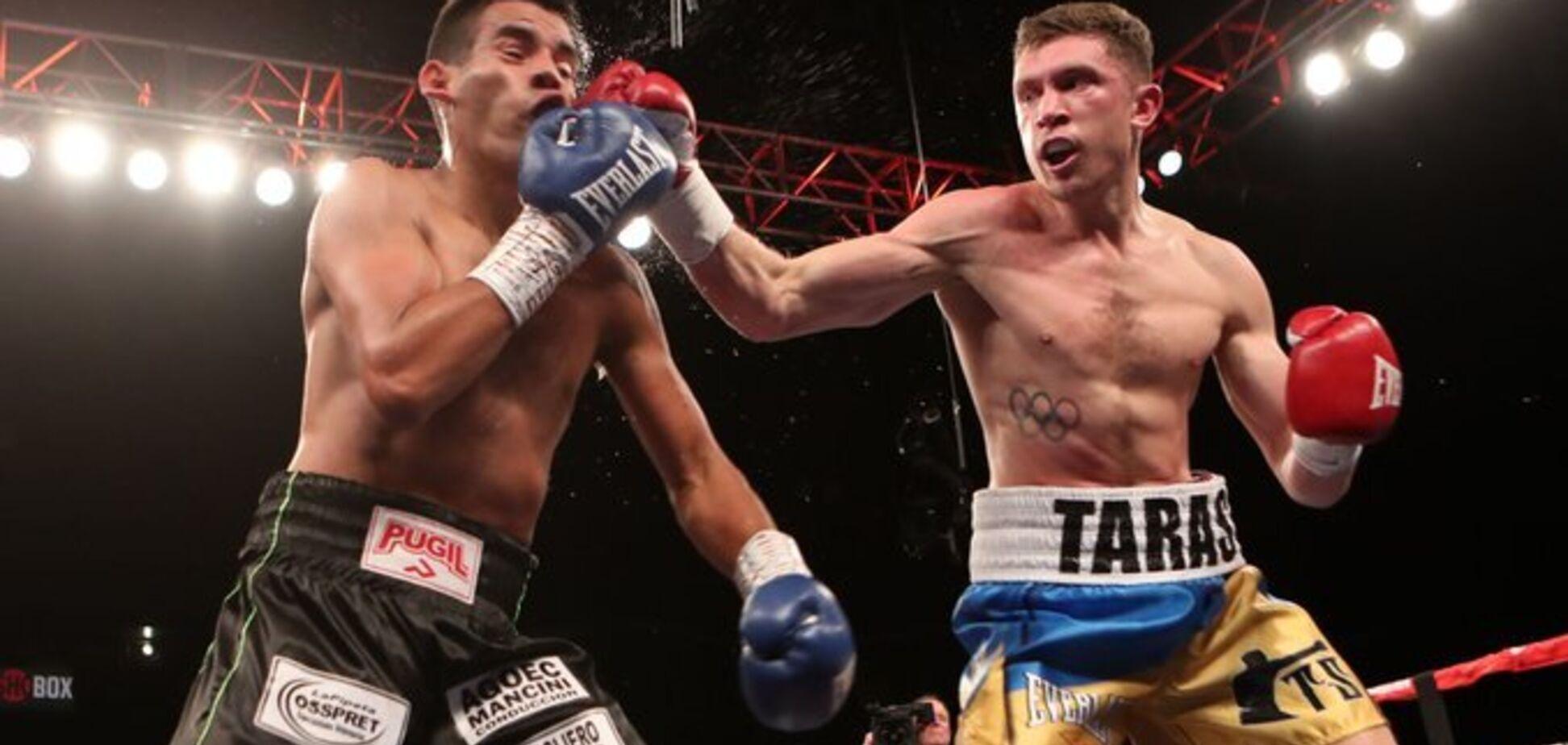 Непобедимый украинский боксер эффектно выиграл бой в США