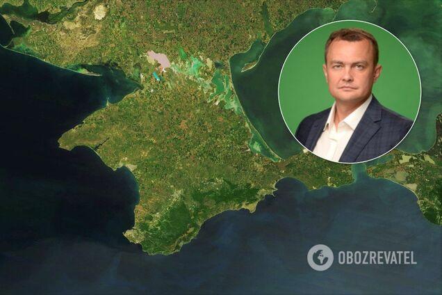 """Депутат від партії """"Слуга народу"""" Юрій Аристов заявив, що питання продажу води в анексований Крим більше не обговорюється"""