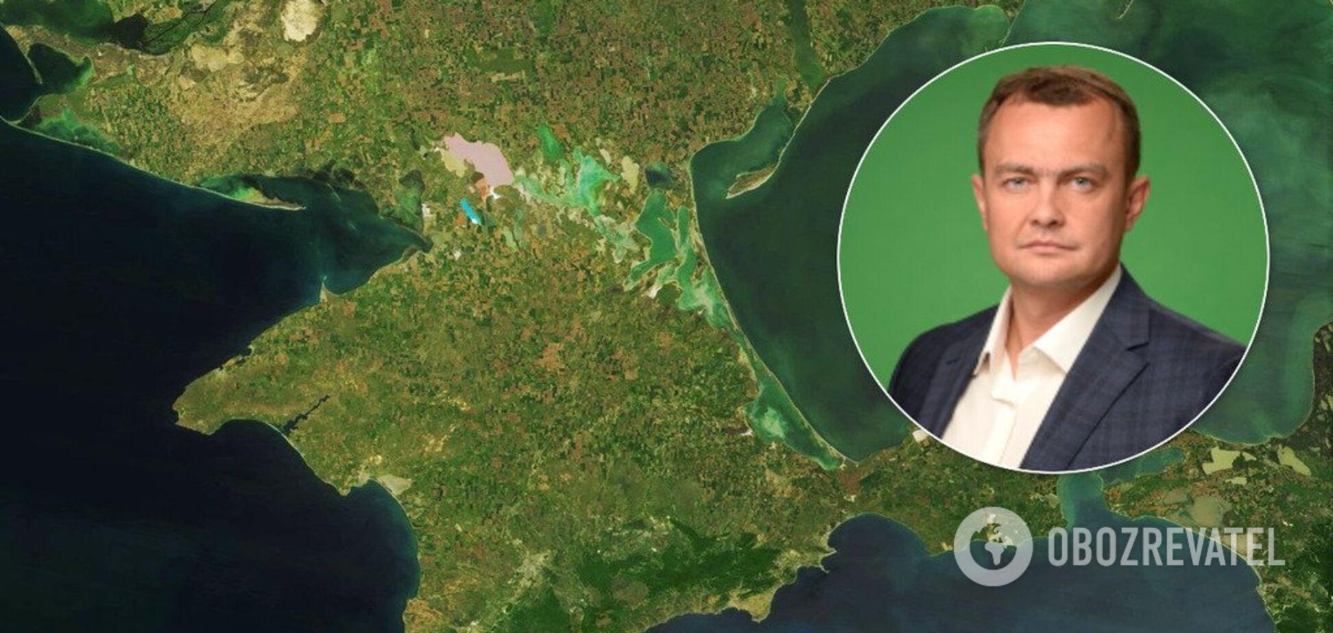 Юрій Аристов заявив про ідею продавати воду в Крим