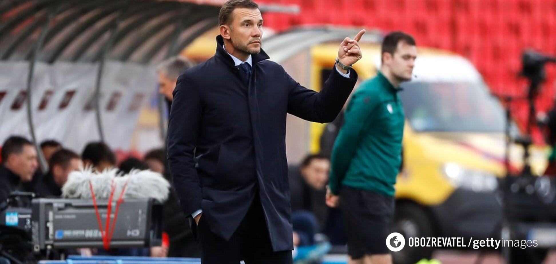 Шевченко назвал зависимость сборной Украины