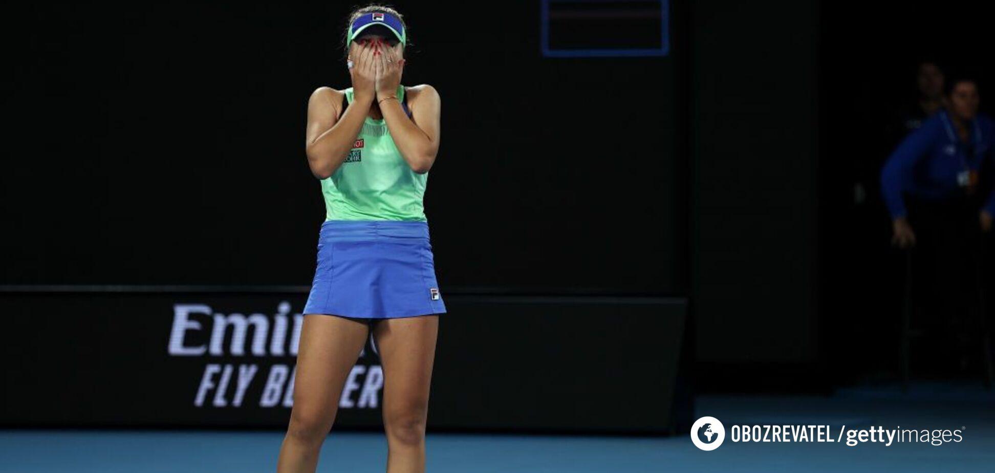 Фінал Australian Open завершився гучною сенсацією