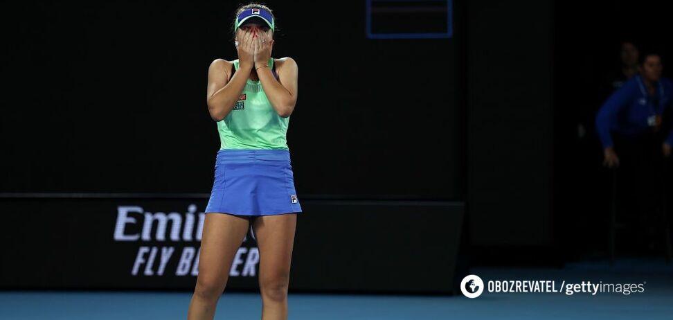 Финал Australian Open завершился громкой сенсацией