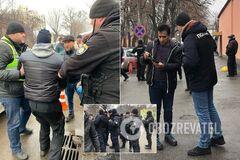 'Аморально и унизительно!' Полиция устроила облаву возле мечети в Киеве: фото
