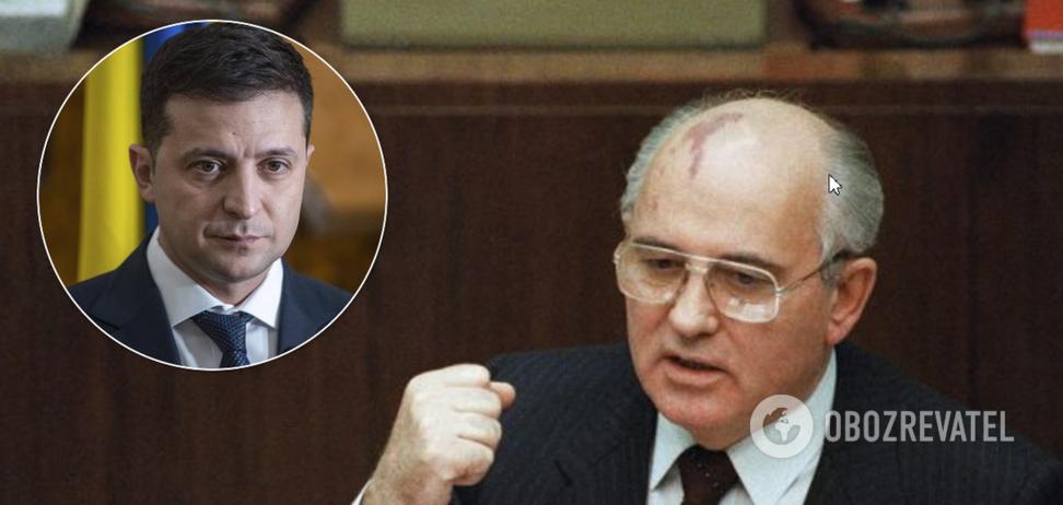 Горбачев разозлился на Зеленского из-за слов о СССР и войне: спор усугубился