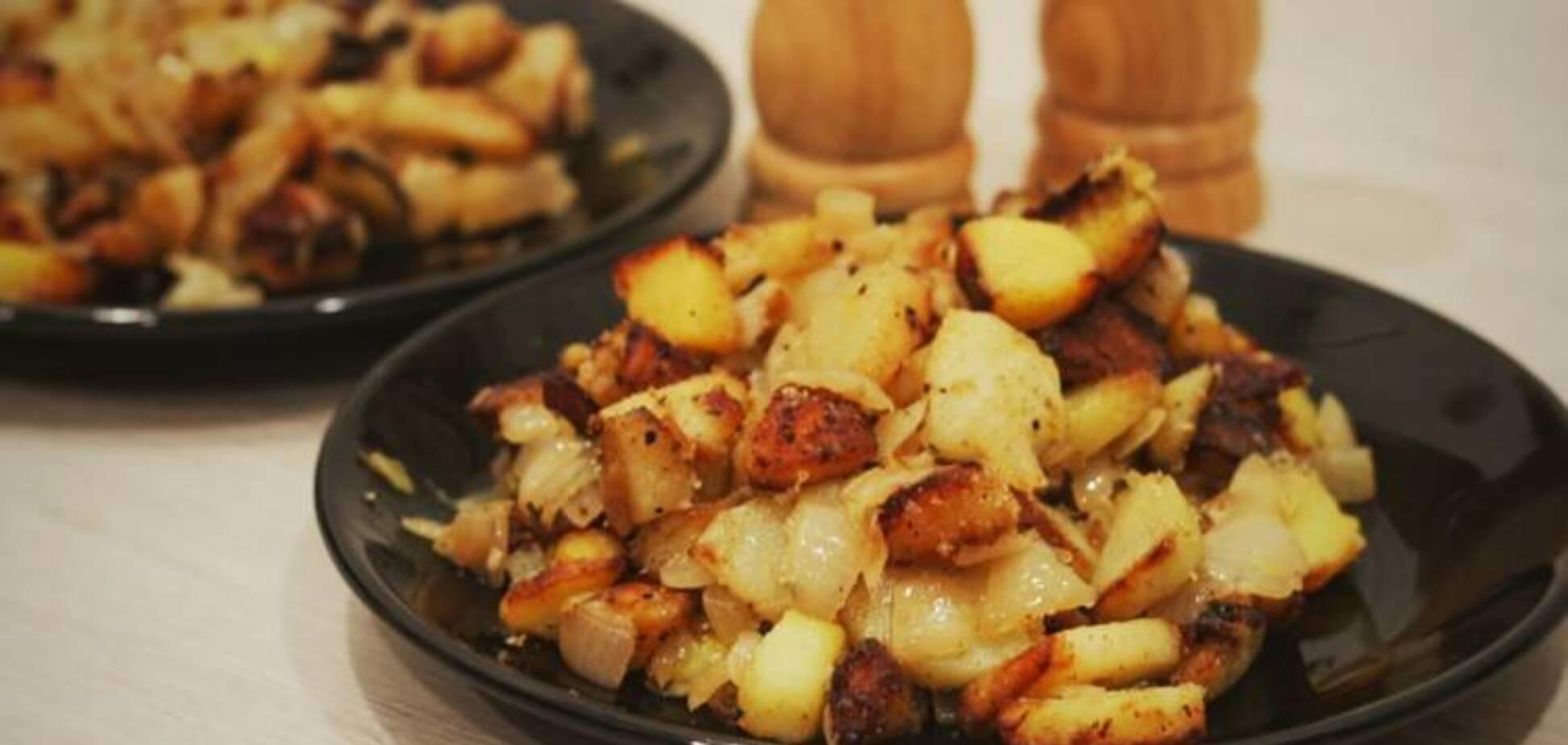 Сказочно вкусная жареная картошка: рецепт с секретом