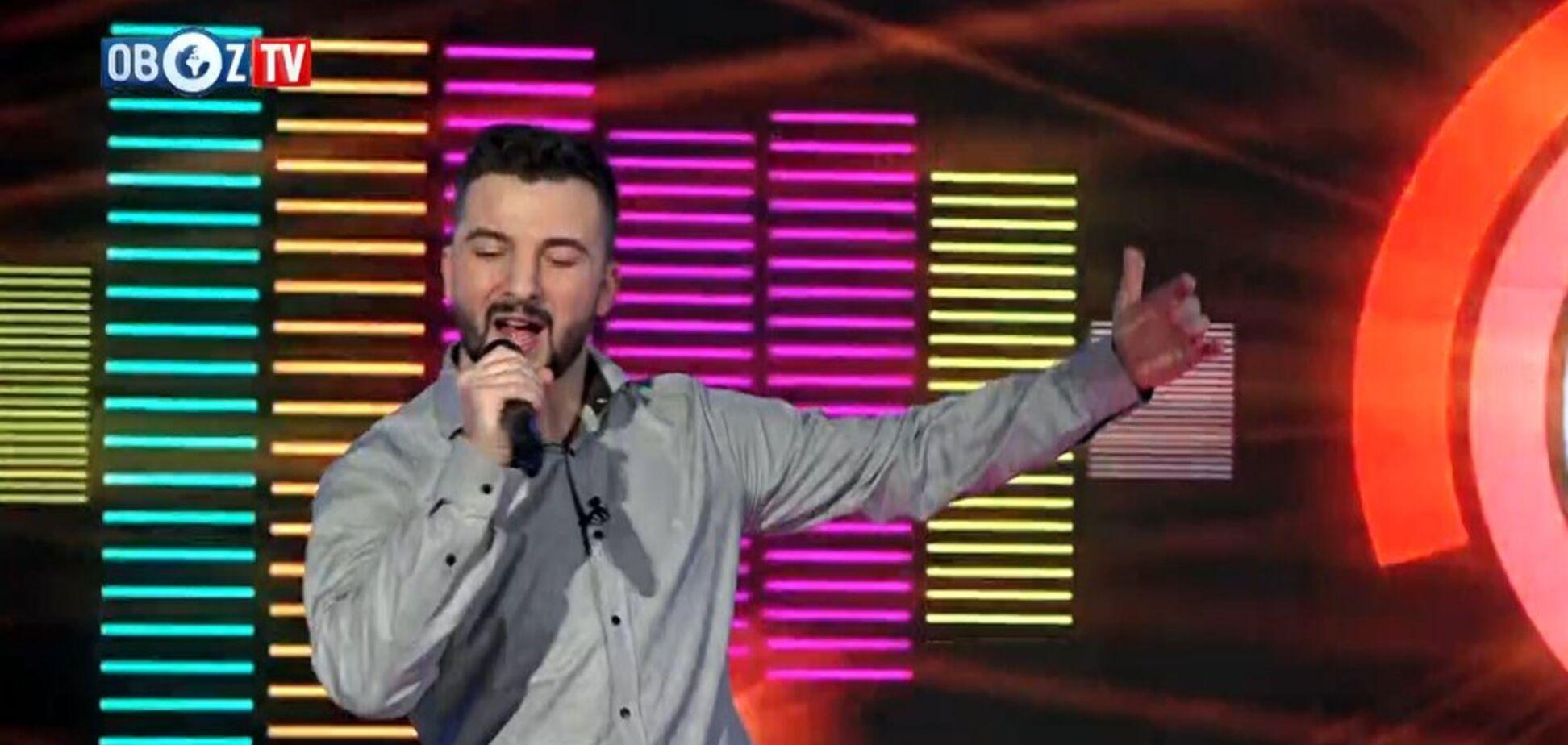 Співак, хореограф Сергій Костецький став гостем прямого етеру ObozTV