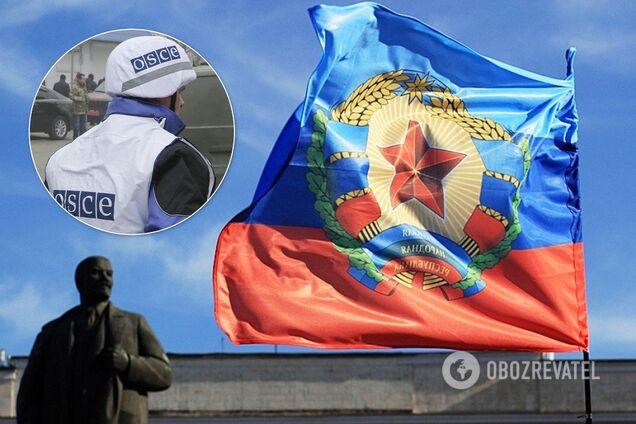 "В ""ЛНР"" заявили о драке с представителями ОБСЕ"