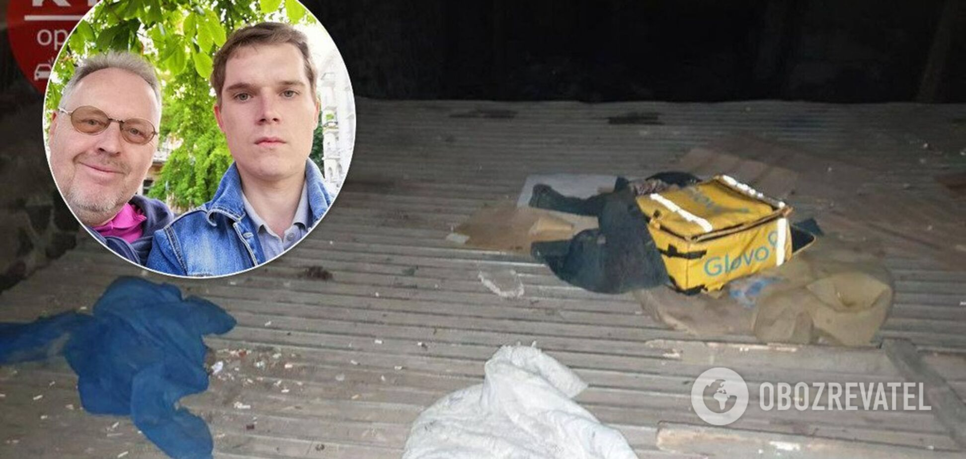 Отец погибшего в Киеве курьера Glovo озвучил свою версию трагедии