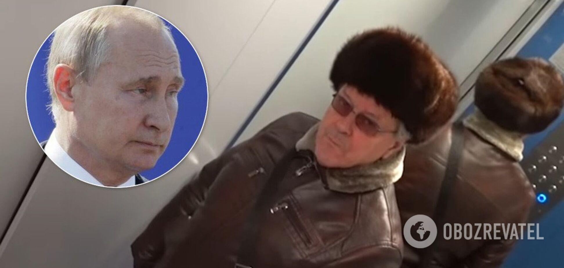 'Путин всем надоел, но...' Рыклин объяснил реакцию россиян на портрет в лифте