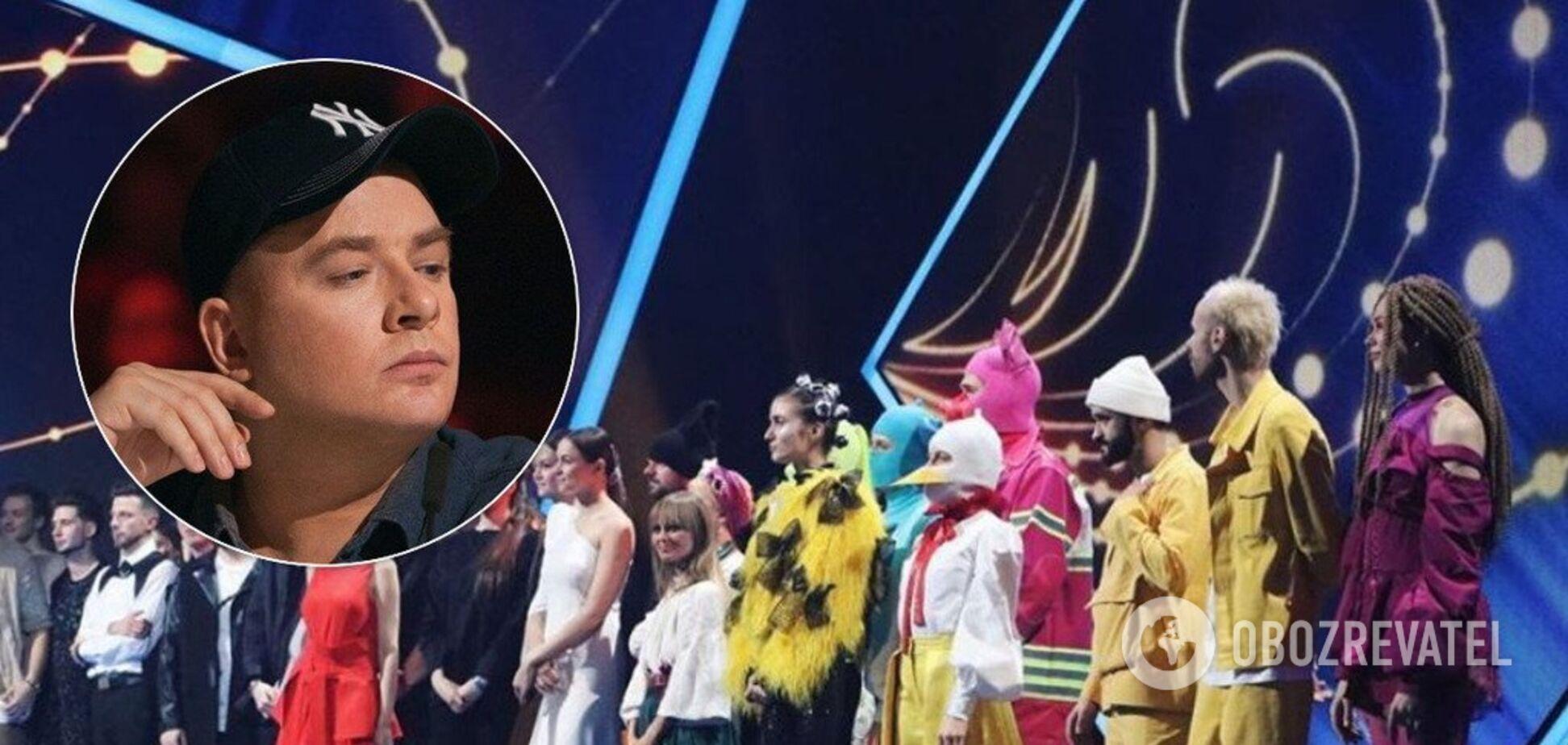 'Маячня': Данилко заступився за пісні російською у Нацвідборі на Євробачення