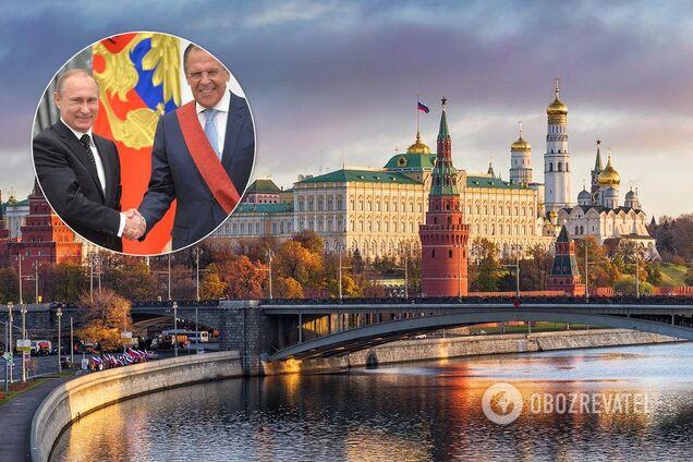 Владимир Путин, Сергей Лавров