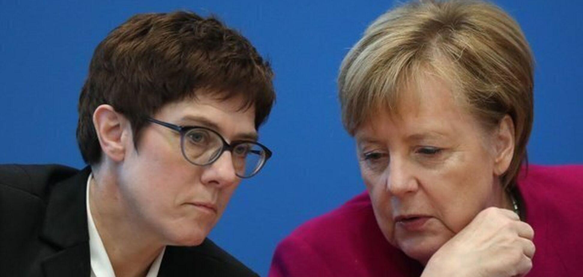 Преемница Меркель отказалась претендовать на пост канцлера Германии